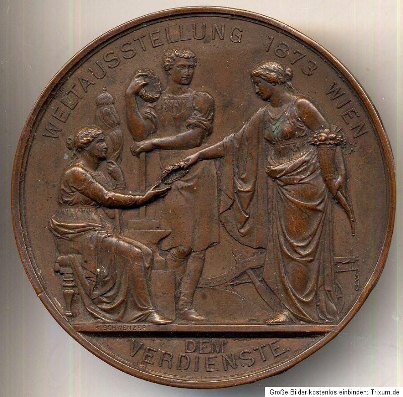 Medalla de Mérito Viena 1873