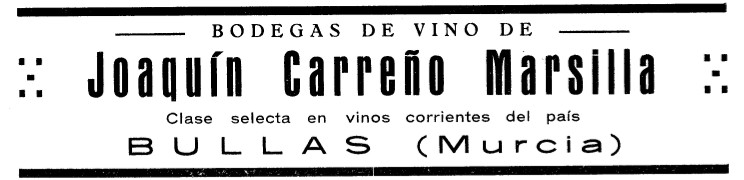 Publicidad Joaquin Carreño 1932