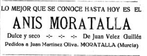 Anis Moratalla de Juan Vélez