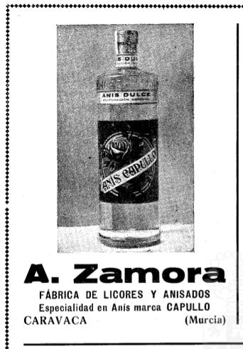 Anís Capullo de A. Zamora