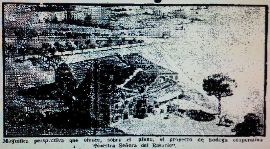 Proyecto de la Bodega de la Cooperativa del Rosario