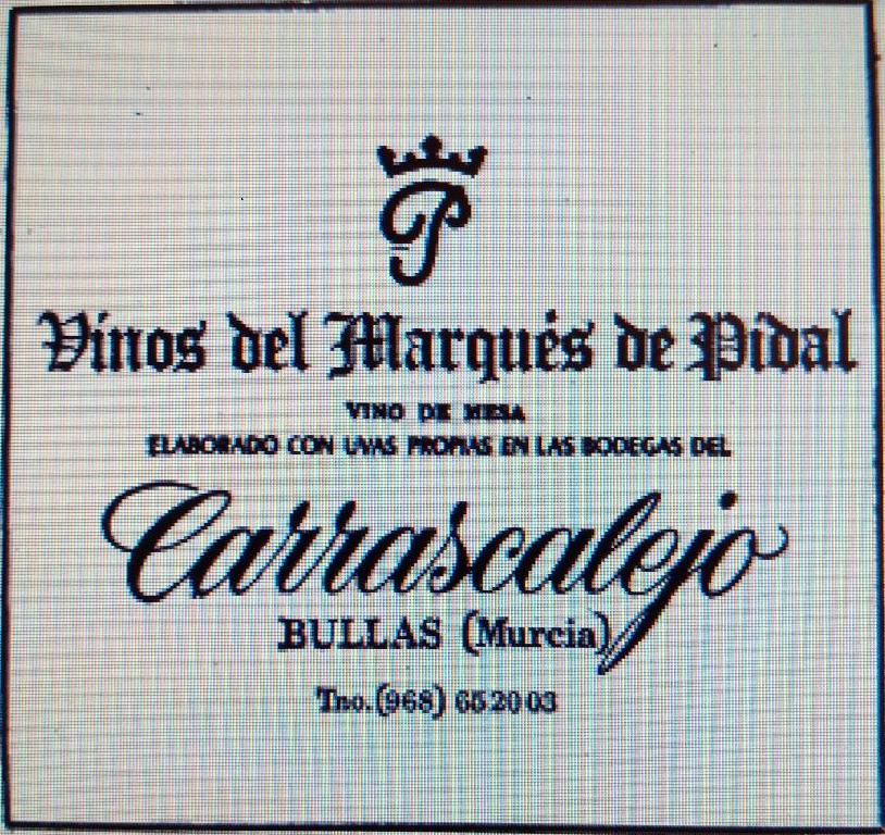Publicidad de Bodegas Carrascalejo
