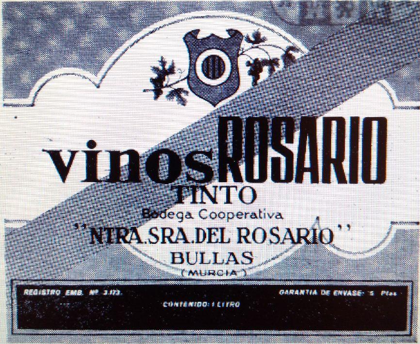 Etiqueta de Vinos del Rosario