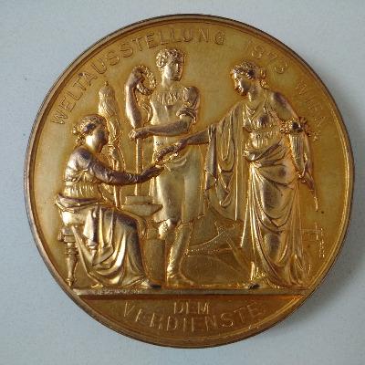 Medalla Viena 1873